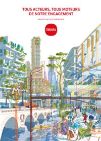 """Couverture - """"Rapport d'Activité Intégré 2019"""""""