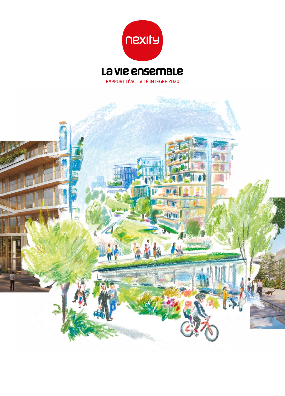 """Couverture - """"Rapport d'Activité Intégré 2020"""""""